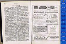 ANCIENT INSCRIPTIONS - Cuneiform, Pisistratus  - Vintage 1907 Print