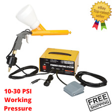 Powder Coating System Tool Paint Gun 10 30 Psi For Vehicles Auto Body Shop Home