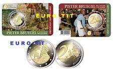 2019  BELGIQUE      COINCARD   DE   2 EURO    2019  P. BRUEGEL   2019 disponible
