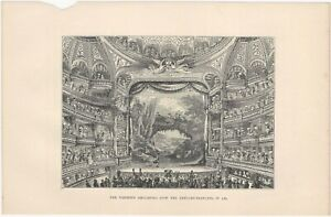 18th Century Ball, Theater & Fair - Three 19th Century French Lithograph Prints