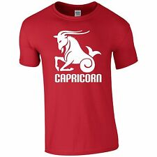 Horoscope Capricorn Funny Tee T-Shirt Top Tumblr Novelty Xmas Gift Secret Santa