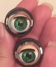 Doll Sleep Moving Eyes Size 13 Green Vinyl Doll Eyes Replace Doll Making Repair