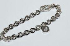 Chopard Happy Diamonds Heart Bracelet With A 0.05 carat Floating Diamond