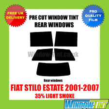 FIAT STILO ESTATE 2001-2007 35% LIGHT REAR PRE CUT WINDOW TINT