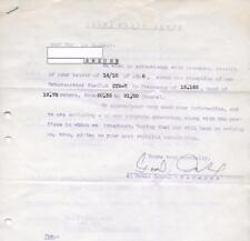 QSL Ceara Radio Clube Fortaleza Brasil Brazil ZYN-7 in 1948 sign Gerente DX SWL