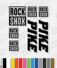 "Decals to fit  ROCKSHOX Fork Forks  26/"" or 29/"" 29er 6cm high x2 Stickers"