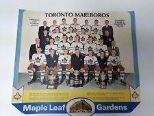 Export A Calendar Page 1963/64 Toronto Marlboros Memorial Cup Winners