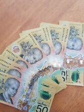 FIRST PREFIX AA18 $50 NEXT GENERATION 2018 1 UNC Banknote LOW serials