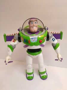 Buzz Lightyear Toy Story Electronic Talking Disney MISSING FACE SHIELD