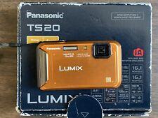 Panasonic LUMIX DMC-TS20 16.1MP Digital Camera - Waterproof - TESTED WORKING