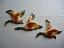 CHINA FLYING WALL HANGING DUCKS, RETRO DECO