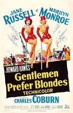 Gentlemen Prefer Blondes Movie Poster 24x36