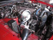 Turbo Intercooler Kit For 1993-2002 Toyota Supra MK4 2JZ-GTE Black Hose