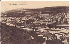 fécamp vue générale 1932