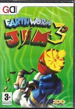 PC Gioco Personal Computer **EARTH WORM JIM 3D** Nuovo Originale Sigillato