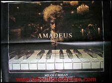 AMADEUS Affiche Cinéma / Movie Poster MOZART Milos Forman 80x60