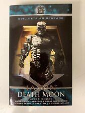 FRIDAY THE 13TH JASON X DEATH MOON NOVEL BLACK FLAME  (2005) RARE OOP