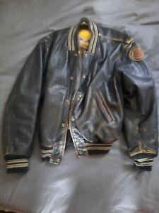Vintage Bomber Jacket Baseball Jacket Redskins
