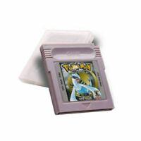 Pokemon GBC Game Card Cart Silver Version For Nintendo Game Boy Color Cartridge