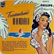 "7"" DIE KILIMA HAWAIIANS & ALFRED HAUSE Traumland Hawaii PHILIPS MINIGROOVE 1956"