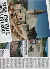 SP32 Clipping-Ritaglio 1986 Stava Una valle piena di croci