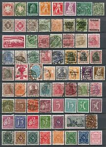 Germany Mint/Used Stamps Bavaria to 1933 Selection of 120+ Stamps (2 Scans)  #10
