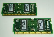 2x KINGSTON KTC-A4100/16 72PIN 8MB EDO SODIMM LAPTOP RAM MEMORY MODULES (16MB)