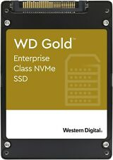 """WD Gold Enterprise NVMe SSD  7.68 TB 2.5"""" SSD (Solid State Drive)"""