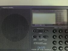RadioShack Shortwave Radio DX-375 Digital Tuning 4 Band AM/FM PLL Synthesized