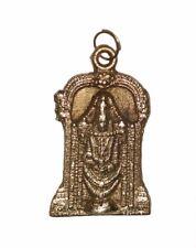 Vintage Brass made VISHNU TIRUPATI BALAJI Pendant / Amulet 'RARE' from India
