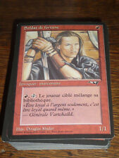 MTG Magic the gathering Soldat de fortune Alliances French NEW never played