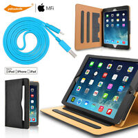 Slim,Simple,Professional,Executive Pouch Case+MFi Charge Cable iPad Pro/Air/Mini