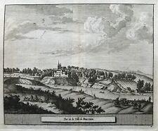 1707 Antique Print;  Brechin, Angus, Scotland by Knyff/Goeree