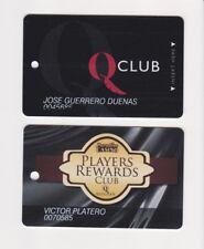 Players Slot Club Rewards Card Q Quechan Paradise Casino Resorts Yuma AZ & CA