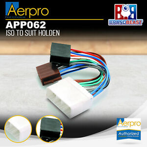 Aerpro APP062 Primary ISO Harness to Suit Holden Vehicles