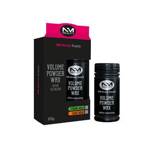 Mattifying & Volume Powder Hair Styling Texturising Dust It Wax by NMB - 20g