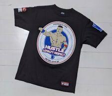 WWE Authentic John Cena Hustle Loyalty Respect Never Give Up T-Shirt - Medium