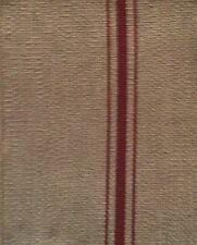 DESIGNERS GUILD Aranjasa Manacor Stripe Natural Red Remnant New