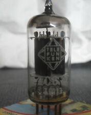 ECC82 Telefunken. Neu. audio tube old production. Vergleichsname 12AU7