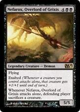 NEFAROX, OVERLORD OF GRIXIS M13 Magic 2013 MTG Black Creature—Demon RARE