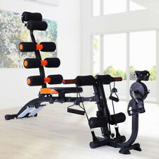 New listing Home Gym Ab Trainer Bench Abdominal Stomach Exerciser Workout Fitness Machine US
