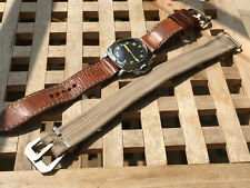 Vintage Panerai gauges textile strap .Compass strap .24-28mm .Assult strap .