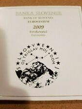 Slovenia 2009 coin set