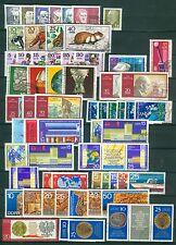 DDR Jahrgang 1970 , gestempelt , Auswahl aus Michel Nr. 1534-1631