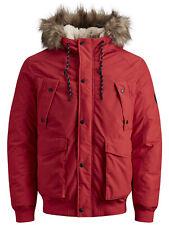 Jack & Jones Originals Parka Jacket Mens Winter Parker Bomber Coat JORExplore