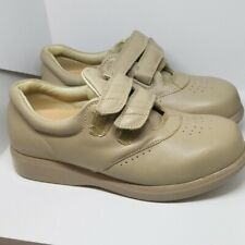 Nature's STRIDE Charlotte Diabetic Womens BONE Leather  Shoes size 7.5