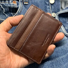 Slim Leather Wallet Credit Card Holders Purse