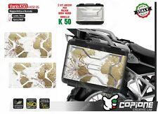 2 Adhesivos Maletas Lateral BMW Vario K 50R 1200 850 800 Viejo Map VK5005