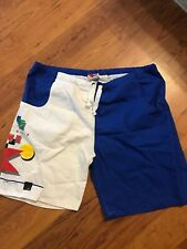 Vintage 1984 Newport Blue Trunks L
