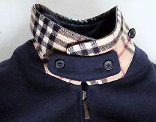 Authentic Women's BURBERRY Wool  Nova Check Cashmere Jacket Coat Size XL US 18
